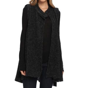 Free People Stand and Deliver sweater cape